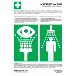 Instrukcja BHP Prysznice...